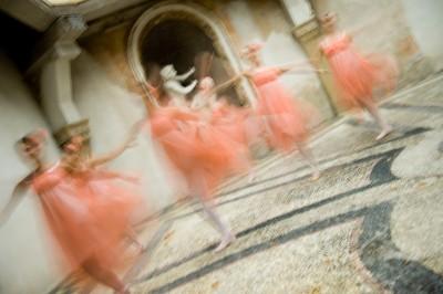 Fotografia reportage ballerine scuola di danza
