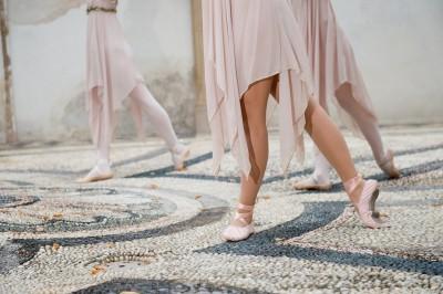 Fotografare esibizione saggio danza classica