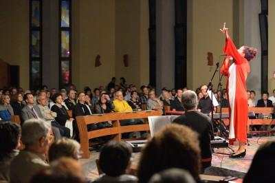 Reportage concerto gospel Assago Milano