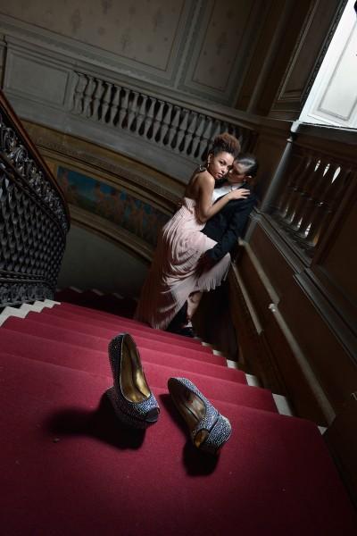 Fotografia redazionale scarpe da donna