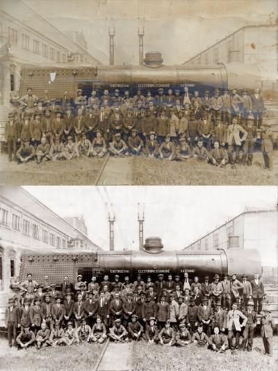 Restauro immagine storica