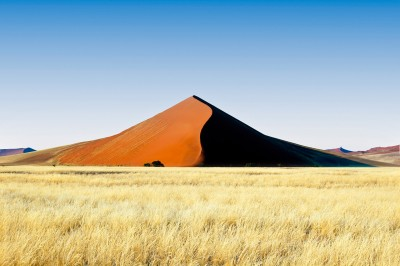 Foto reportage di viaggio duna di sabbia in Namibia