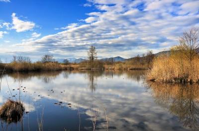 Fotografare i riflessi sull'acqua