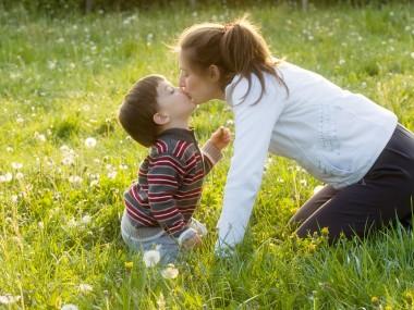 fotografare bambino e mamma