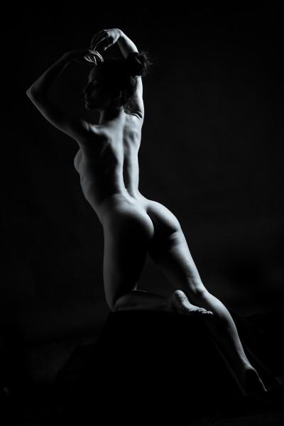 Fotografie glamour boudoir nudo Varese