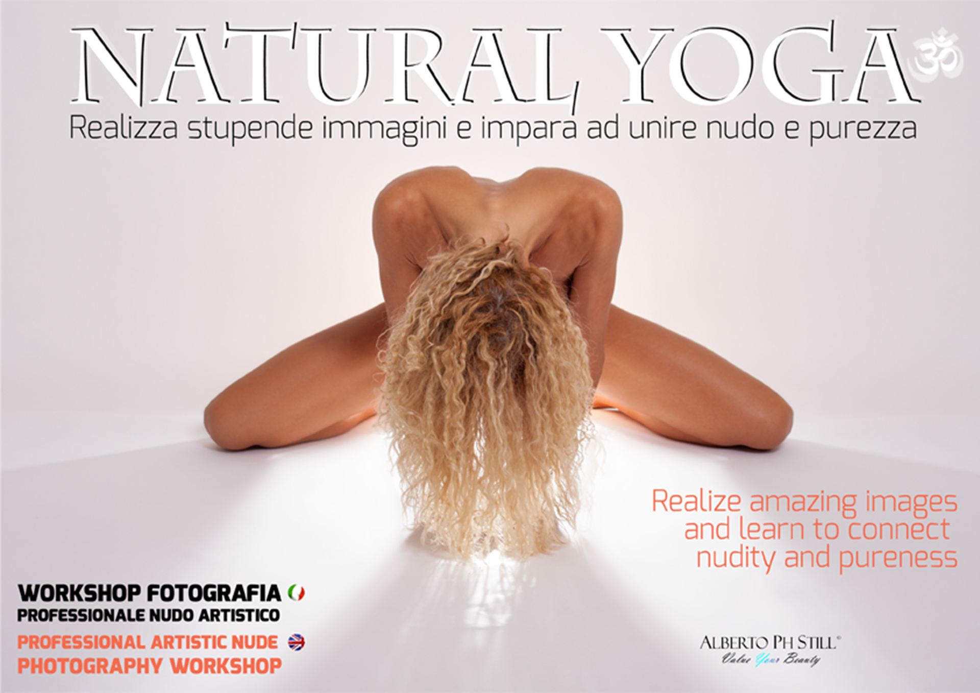 "Workshop di Nudo Artistico ""Natural Yoga"" Alberto Ph Still"